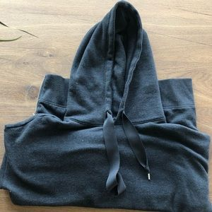 Aerie Grey Hoodie with Zipper Sides